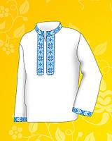 Заготовка для детской сорочки (4-9 лет) на мальчика