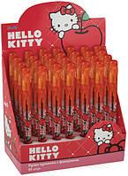 """Ручка кулькова з ліхтариком """"Kite"""" """"Hello Kitty"""" HK13-035K син"""