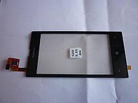Тачскрин для Nokia 520 Lumia/525 Lumia, черный