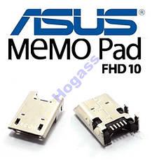Разъем гнездо micro USB Asus ME301T ME302С ME302KL, фото 2