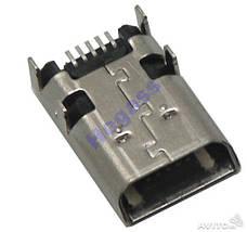 Разъем гнездо micro USB Asus ME102A ME180A Orig., фото 2