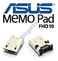 Разъем гнездо micro USB Asus ME373CG ME372CG Orig.
