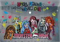 """Папка на кнопці A4 """"Kite"""" """"Monster High"""" MH15-200K"""