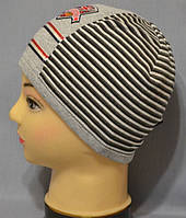 Трикотажная шапочка для мальчика по супер-цене.