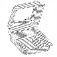Блистер квадратный большой для тортов и других кондитерских изделий IT-480
