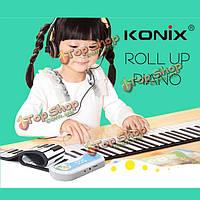 Konix 37 рук ключей катящееся фортепьяно pn37 три цвета