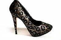 Стильные леопардовые туфли