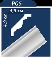 Плинтус потолочный Premium PG-5