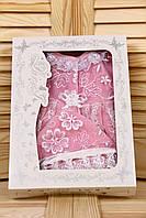Велюровый набор Мальвина розовый
