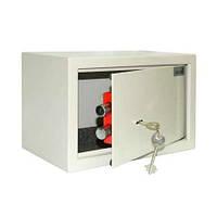 Механический сейф Арсенал 20K: сувальдный замок, 2 ключа, коврик, 20х31х20 см, 5 кг