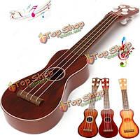 Детский музыкальный инструмент акустическая гитара игрушка для практики