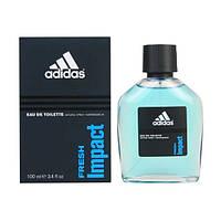 Мужская туалетная вода Adidas Fresh Impact (Адидас Фреш Импакт), 100 мл