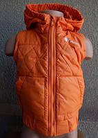 Детская Жилетка Columbia  от 1 года-6 лет оранж