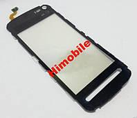 Тачскрин сенсор Nokia 5800 черный