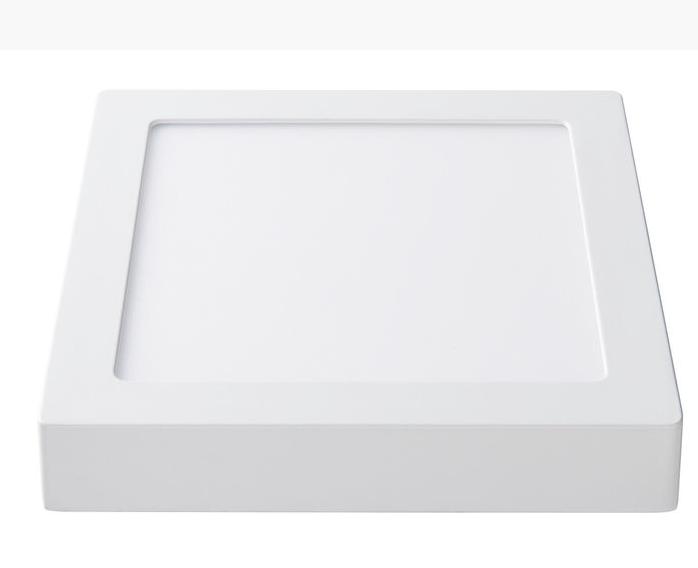 Светодиодный светильник Lezard  18W 6400К (225*225) квадратный накладной