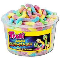 Жевательные конфеты Trolli Червячки в сахаре 1050г