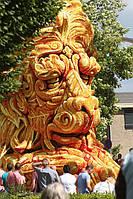 Парад цветочных скульптур в Нидерландах