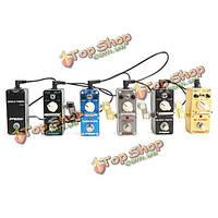 Аромат АЦП-M5 гитары педаль эффектов питания сплиттер адаптер 5 способов