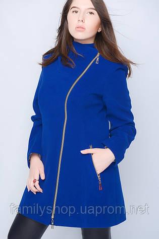Кашемировое пальто большого размера с капюшоном, фото 2