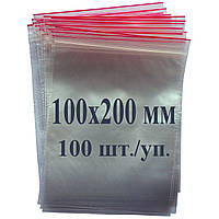Пакет с застёжкой Zip lock 100*200 мм, фото 1