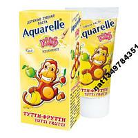 Зубная паста Aquarelle Kids Tutti-Frutti