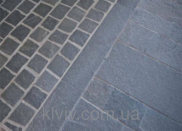 "Новинка! Колотая брусчатка из Кварцита - Сланца ""KAYRAK SILVER"" KLVIV (Турция)10смх10см; 10смх20см; 15смх15см х 4-5см. 2"