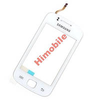 Тачскрин сенсор для Samsung S5660 белый