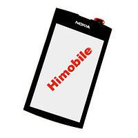 Тачскрин сенсор Nokia 305, 306 черный High Copy