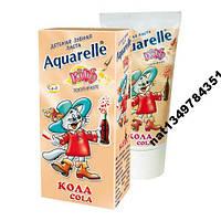 Зубная паста Aquarelle Kids Кола