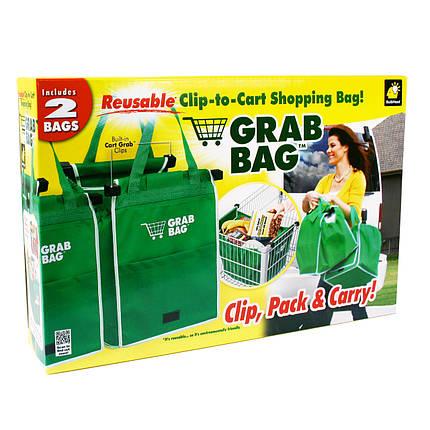 Хозяйственная сумка Grab Bag (2 шт.) - сумка для покупок, фото 2
