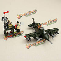 Просветите истребитель зон боевых действий серии блоков детей образовательные игрушки no.810