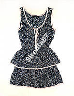 Стильное платье из натуральной вискозы №207