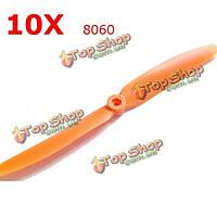 10X Gemfan 8060 с прямым приводом винта для моделей радиоуправляемых