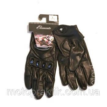 Elemento 186 Free Ride Gloves Black, L Мотоперчатки дорожные