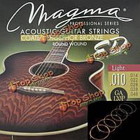 Магмы акустическая гитара струны Фосфорная бронза ga120p ga140p ga150p