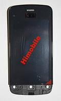 Сенсор для Nokia C5-03, C5-06 в рамке черный