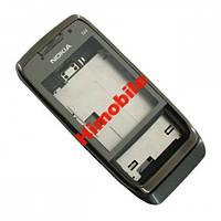 Корпус для Nokia E66 серая сталь High Copy