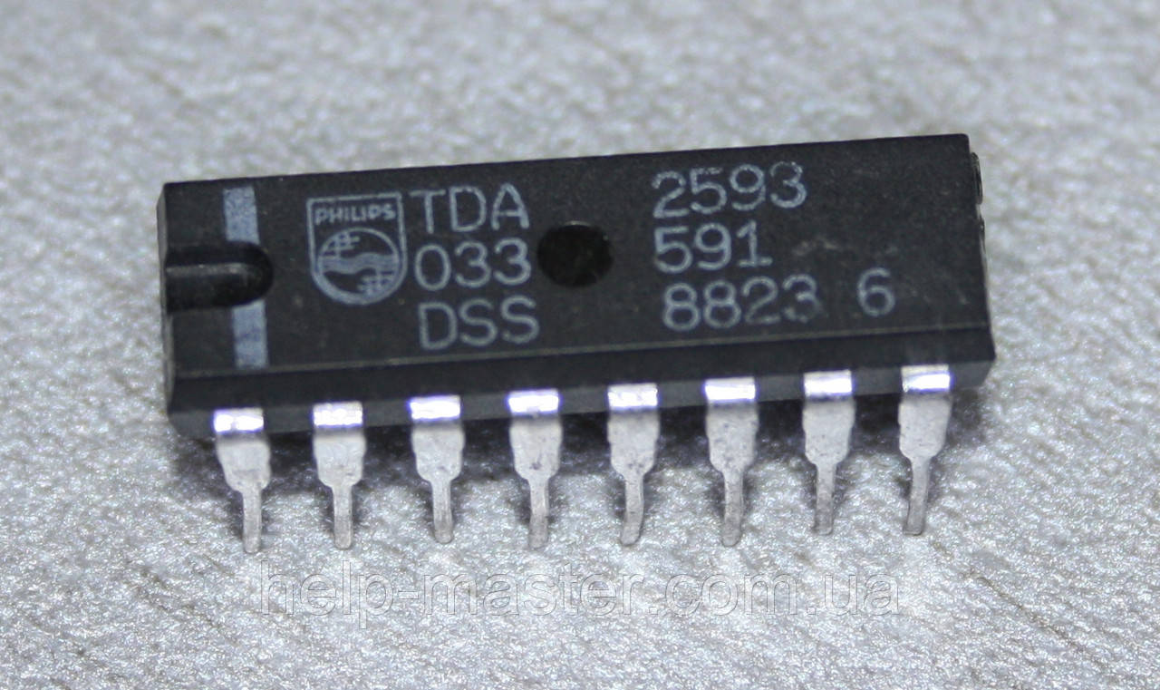 TDA2593; (DIP16)