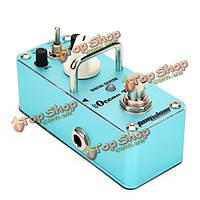 Педаль эффекта аромат AOV-3 океана глагол цифровой реверберации педали гитарный эффект