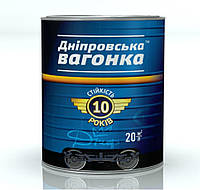 Эмаль Inrafarb Днепровская Вагонка Пф-133 Universal-M 2,5 л Тёмно - коричневый лак