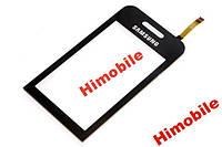 Тачскрин, сенсор Samsung S5230 черный с проклейкой High Copy
