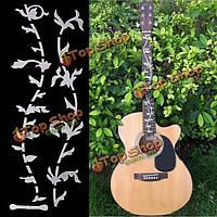 DIY стикер для электрической гитары резные акустической грифа