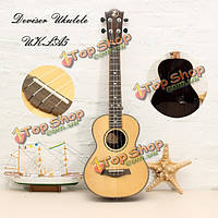 Изобретатель укулеле UK-LA5 24-дюймовый четыре гитара ели панель