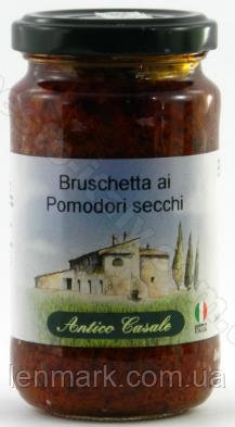 Соус Antico Casale bruschetta ai pomodori secchi 190г
