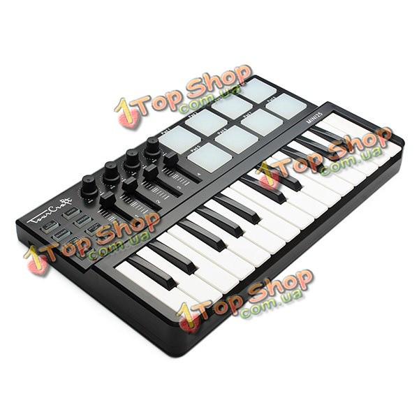 Tourcraft Mini 25 клавиш профессионального миди контроллер клавиатуры - ➊TopShop ➠ Товары из Китая с бесплатной доставкой в Украину! в Киеве