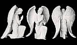 Мемориальные скульптуры ангелов на могиле. Скульптура ангела на могилу из полимера 130 см, фото 2