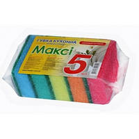 Губка для кухни (5шт) Доместик Макси