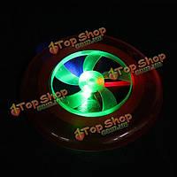 Красочные горячей спиновые LED Магия света на открытом воздухе игрушки Летающий диск фрисби НЛО
