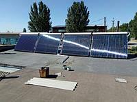 Монтаж всесезонных солнечных коллекторов в Запорожье (фотоотчет)