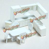 Модель материала Крытый сцены украшение кухонный гарнитур